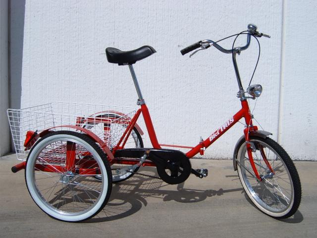 Biciclette a tre ruote bicitris ruote e accessori per for Bicicletta per tre persone
